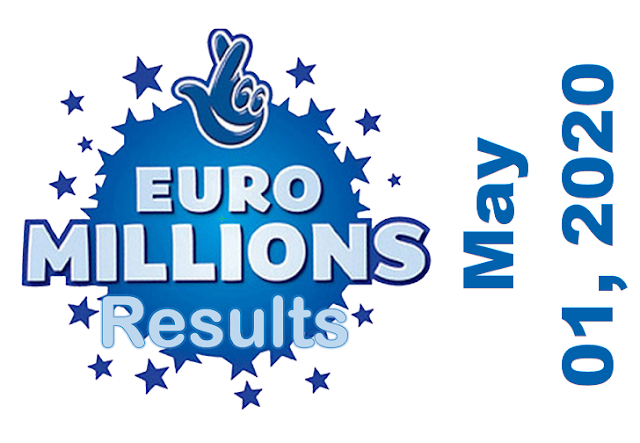 EuroMillions Results for Friday, May 01, 2020