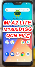 Xiaomi Mi A2 Lite M1805D1SG Qcn File For Imei Null Fix Download