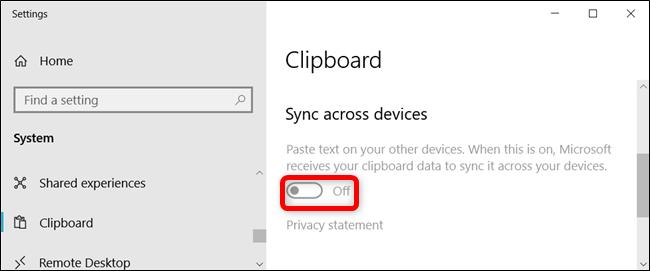 تم ضبط الإعداد باللون الرمادي ولم يتمكن المستخدمون من تشغيله.