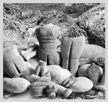 Εντυπωσιακά είναι τα ευρήματα στη νήσο Κέρο