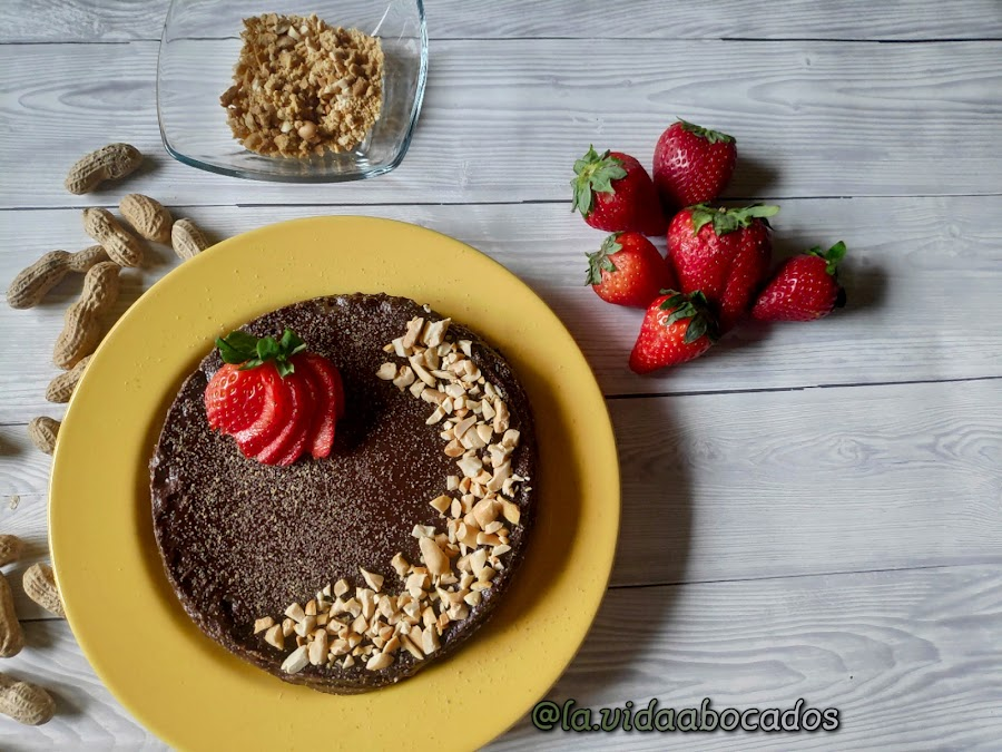 tarta vegana chocolate