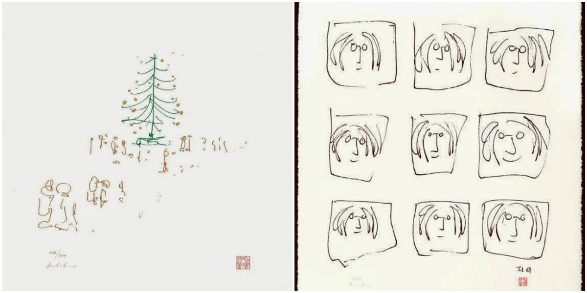 Rarely Seen John Lennon\'s Drawings From the 1960s ~ vintage everyday