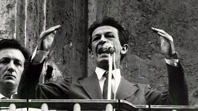 il 7 giugno 1984  Enrico Berlinguer colto da Ictus