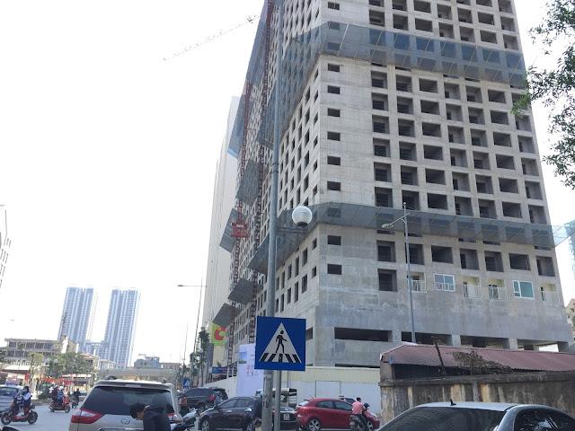 Tiến độ xây dựng tòa CT-07 chung cư Booyoung Vina