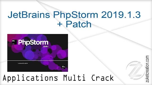 JetBrains PhpStorm 2018.1.3 + Crack