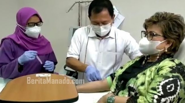 Anggota DPD RI Maya Rumantir Pilih Vaksin Nusantara Dr Terawan Hasil Uji Klinis Kedua