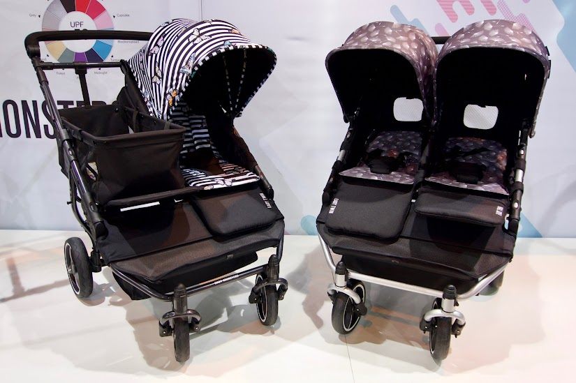 Carro gemelar Easy Twin de Baby Monsters