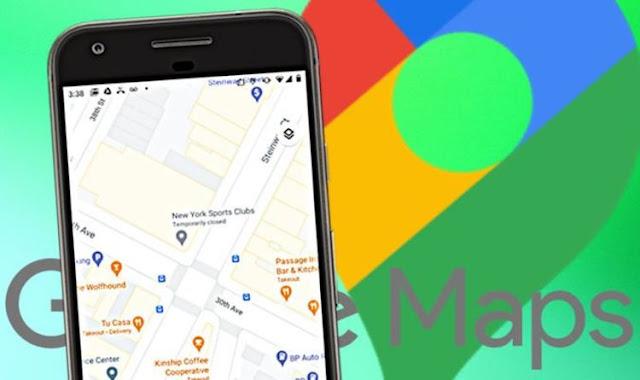 تحديث جديد في خرائط جوجل