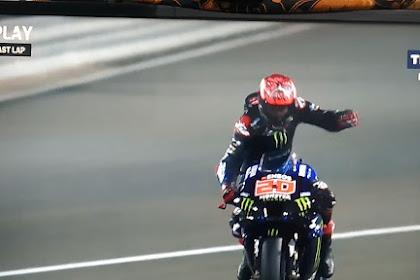 Hasil Balapan MotoGP Doha Qatar 2021 Tadi Malam, Fabio Quartararo Juaranya!