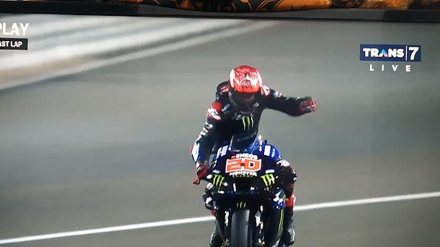 Fabio Quartararo juara moto gp doha qatar 2021
