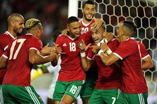 ضمن الجولة الرابعة لكأس العالم لكرة القدم 2022 في قطر ، تغلب المغرب على غينيا بأربعة أهداف