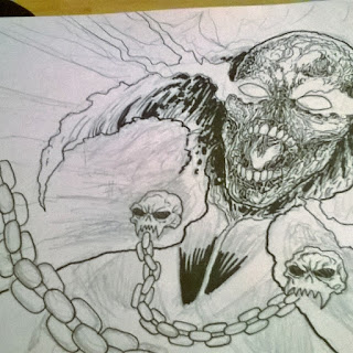 spawn art drawing