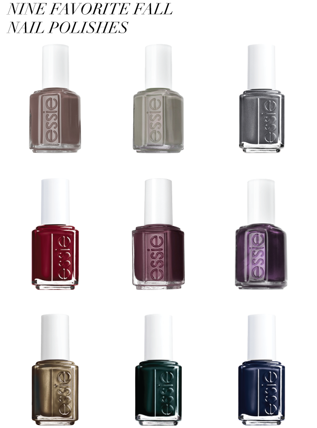 Favorite Fall Nail Polishes // A Style Caddy