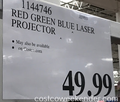 Deal for the Laser Lights Projector at Costco