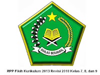 RPP Fikih Kurikulum 2013 Revisi 2018 Kelas 7, 8, dan 9