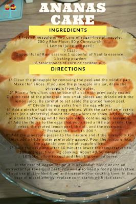 ananas cake glutenfree recipe