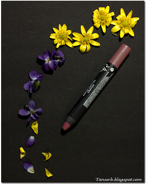 Golden Rose Matte Lipstick Crayon № 10