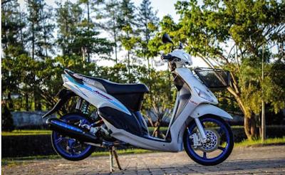 Modifikasi Motor Mio Sporty Standart