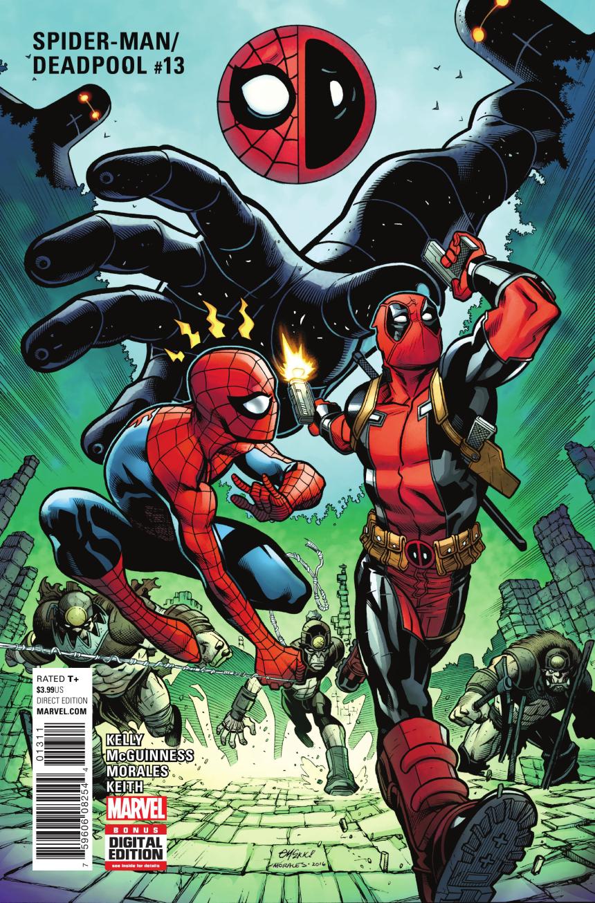 Weird Science DC Comics SpiderManDeadpool 13 Review