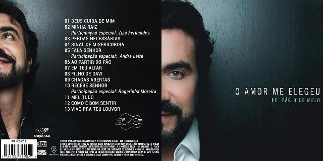 CD Padre Fábio De Melo O Amor Me Elegeu