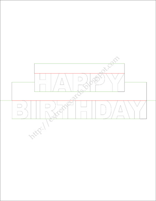 Pop up birthday cards template free download bookmarktalkfo Image collections
