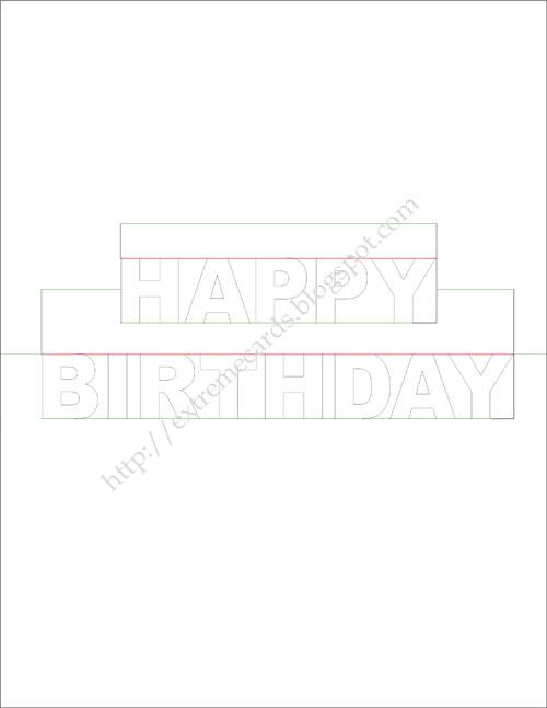 Valentine Card Design Happy Birthday Pop Up Card Template Pdf