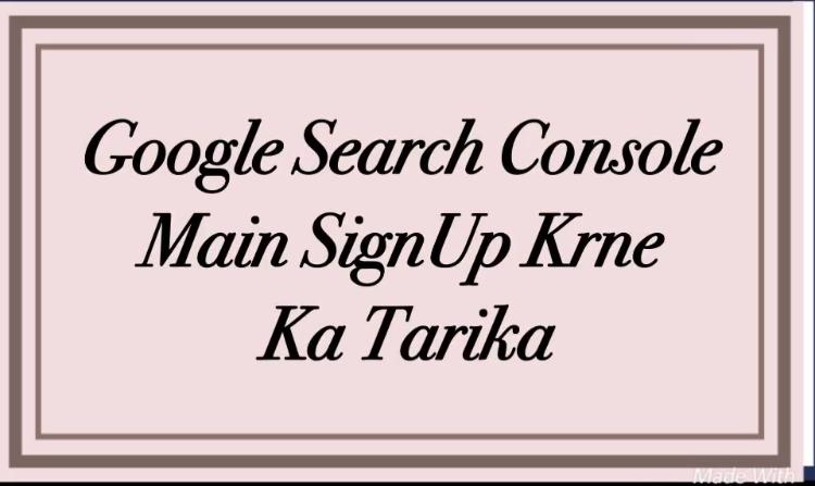 Search Console Main Sign Up Kaise Kare Aur Sitemap Xml Ko Kaise Add kare?