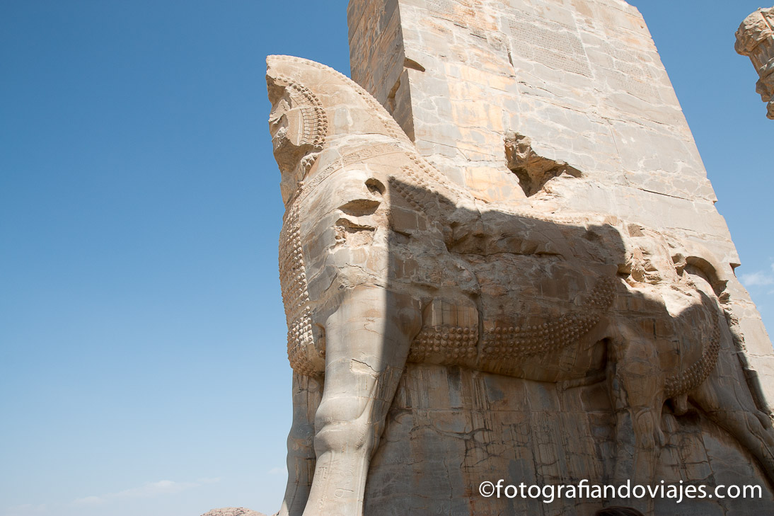 Ruinas de Persepolis, Shiraz en Iran