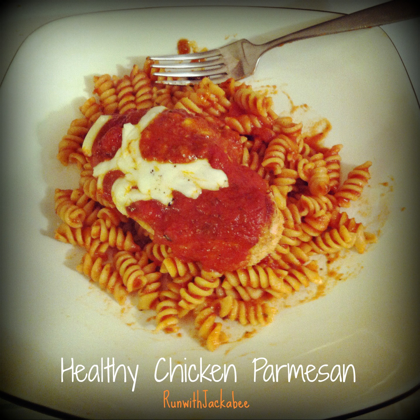 RunwithJackabee: Healthy Baked Chicken Parmesan