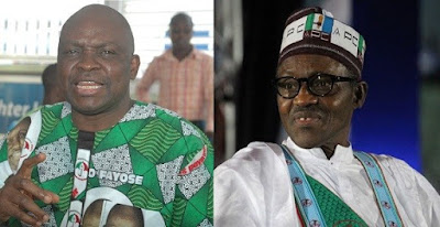 """Those who voted Buhari in 2015 should ask God for forgiveness"" — Governor Fayose"