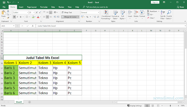 cara menghilangkan garis di spreadsheet microsoft excel
