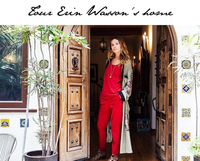 Erin Wasson home