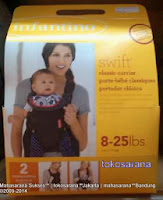 Infantino Swift 2 Positions Baby Carrier