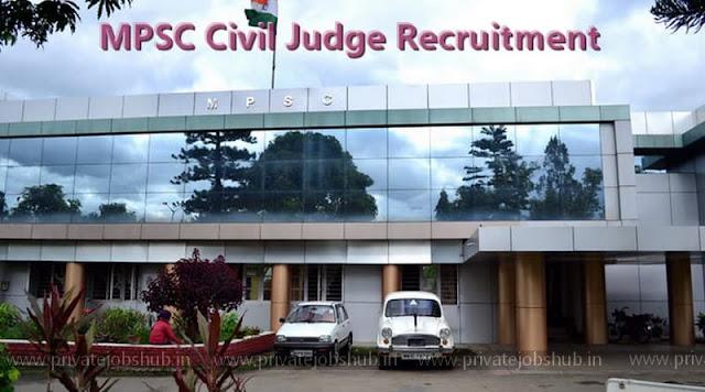 MPSC Civil Judge Recruitment