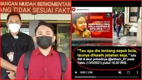 Polisi Virtual Ciduk Warga Slawi Karena Mengolok-olok Gibran