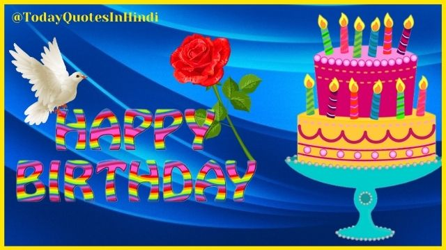 happy birthday quotes with flowers images
