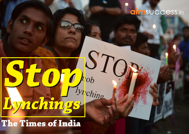 Stop Lynchings: The Times of India