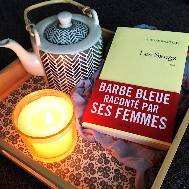 """Chronique littéraire. """"Les Sangs"""" d'Audrey Wilhelmy par Mally's Books."""