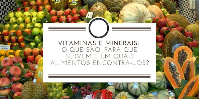 Benefícios dos Minerais para seu organismo e sua saúde