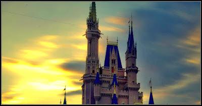 un castillo sobre las nubes