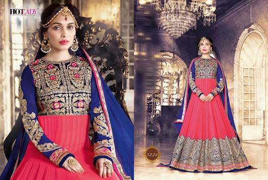 TRADITIONAL STYLISH PARTY WEAR DRESS