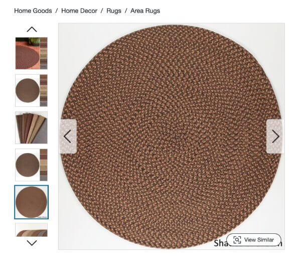Shades Of Brown Tweed Rug