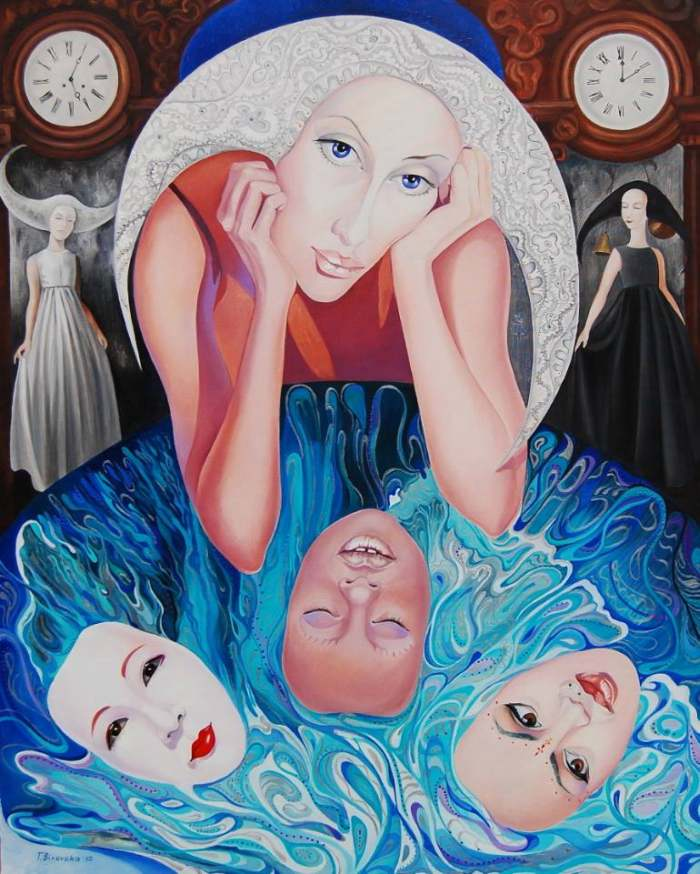 Украинская художница. Tatyana Binovska