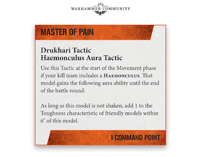 Drukhari Tactics kill team