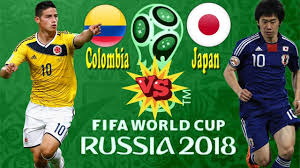 Colombia vs Japan Live Streaming online Today 19.06.2018 World Cup 2018