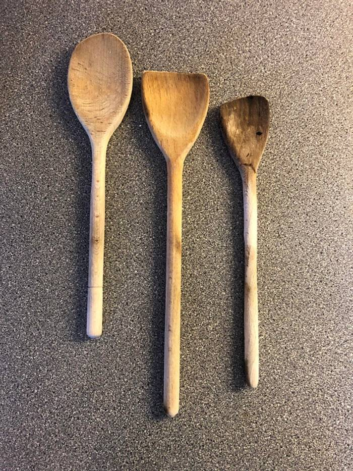 My friends parents owned a bed & breakfast for years. Daily breakfast for a dozen people took a toll on their spoons...