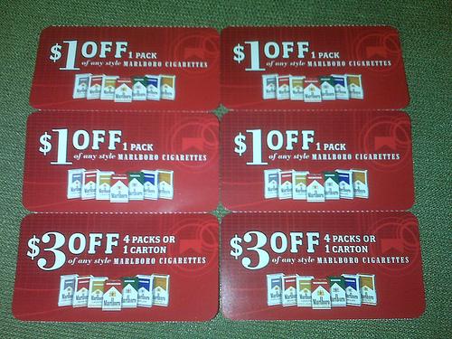 marlboro+couponJPG (1600×1066) Stuff to buy Pinterest - discount voucher design
