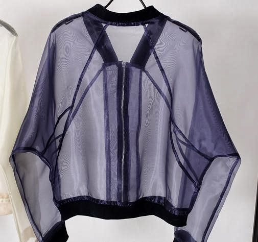 Sheer Bomber Jacket Hello Parry Perth