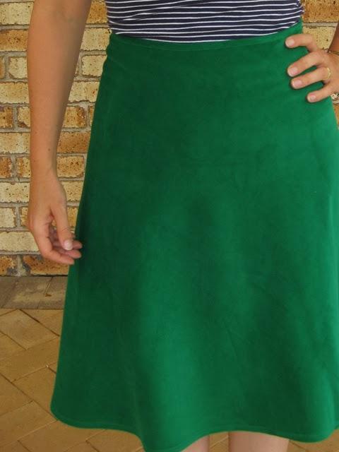 A 1/4 circle skirt made easy* | Sew Hopeful