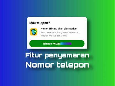 fitur penyamaran nomor telepon